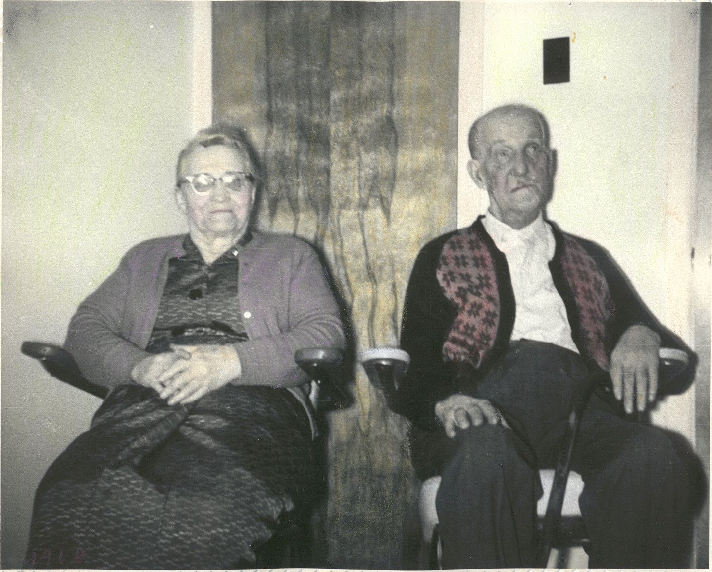 Photo de couple (âgés):