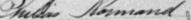 Signature de Philias Normand: 3 avril 1894